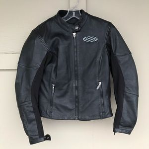 Shift Leather Biker Jacket Armored Padded Racing